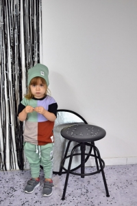 T-shirt multicolor MOON CHILD